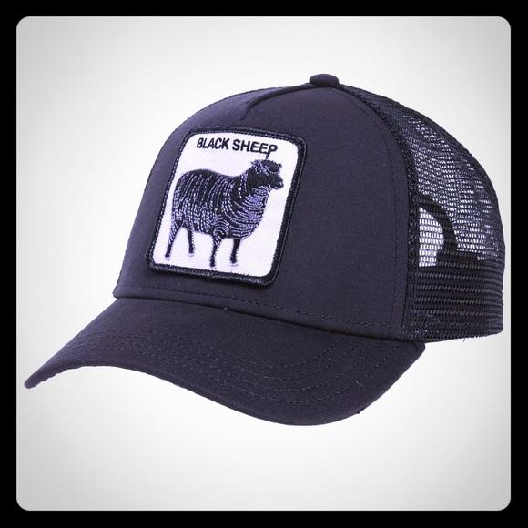 d14c933b85f16 Goorin Brothers Accessories - Black Sheep Trucker Hat